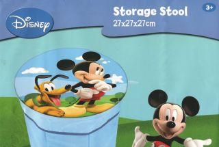 Buy 3 Get 1 Free Disney Mickey Mouse Storage Seat Stool Chair Box Pouffe Toys