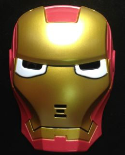 Iron Man Mask Helmet LED Light for Children Costumes Party Great Gift for Child