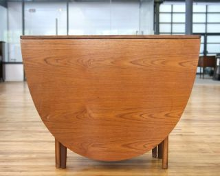 Retro Dining Table Mid Century Gateleg Table Vintage 60s 70s Drop Leaf