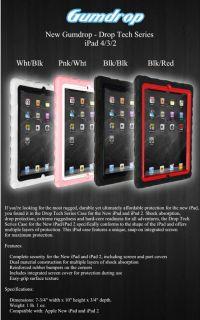 Gumdrop Drop Tech Series Protective Case for Apple iPad Retina 4 3 2