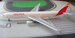 Iberia Airbus A330 302 EC LYF 1 400 Scale Diecast Aeroclassics