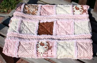 Let's Strip Rag Quilt Pattern Instructions Toddler Baby