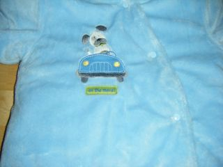 Infant Child of Mine Carters Hoodie Car Seat Winter Snow Suit Sz 6 9 MS RN35623