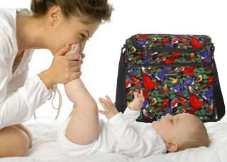 Birdwatching Wild Bird Diaper Baby Bag by Broad Bay