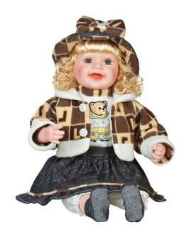 "Fiona 22"" Vinyl Toddler Golden Keepsakes Doll"