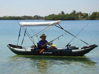 New Saturn 13' Pro Angler Fishing Inflatable Kayak