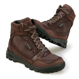 Vasque Mens Contender Brown Black Gore Tex Boots s 10 5