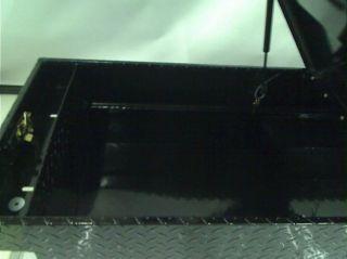 """Tradesman TALG581BK 70"""" Gull Wing Black Aluminum Cross Bed Tool Box"""