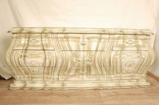 Vintage French Provincial 60's Hand Carved Dresser