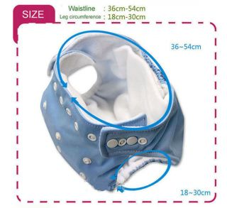 New Baby Diaper Cloth Adjustable Reusable Baby Washable Cloth Diaper Nappies