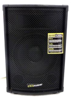 SHS Audio Ste 12 A 200 Watt Powered Speaker Cabinet Black