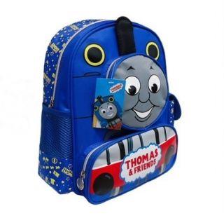 Thomas Friends Cute Baby Kids Boys Girls Blue Schoolbag Backpack Travelling Bag
