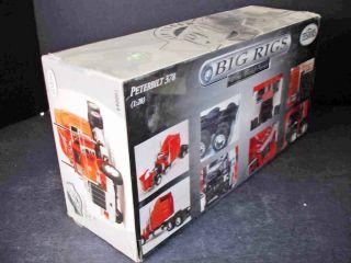 Big Rigs Peterbilt 378 Metal Body Model Kit Testors 1 28 MISB New