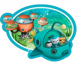 Octonauts Birthday Party Supplies Pack of 8 Shaped Dinner Plates 31cm Diameter