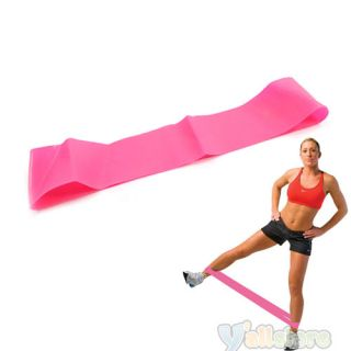 """Resistance Exercise Bands Loop 18"""" Wrist Ankle Rosy"""