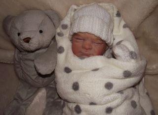 7244d9831 ... Joshua James Adorable Newborn Baby Boy by Dollydaisy ...