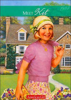New American Girl Meet Kit Kittredge Paperback Book