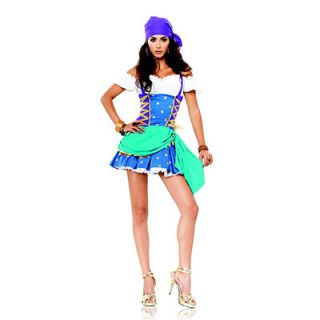 Sexy Halloween Adult Costume Party Gypsy Princess Esmeralda Fortune Teller