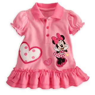 Disney Minnie Mouse 2 Piece Polo Dress with Bloomers for Baby Size 12 18M