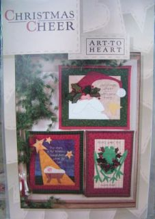 Christmas Cheer Holiday Wall Quilts Art to Heart Nancy Halvorsen Quilt Pattern