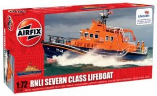 Airfix 1 72 Rnli Lifeboat Rescue Boat Severn Class Model Kit Set A07280