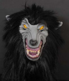 Deluxe Halloween Big Bad Wolf Costume Werewolf Mask