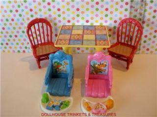 Fisher Price Loving Family Dollhouse Kitchen Set Cute