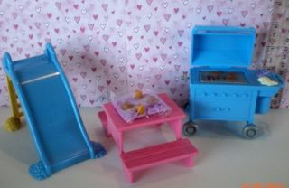 Fisher Price Loving Family Dollhouse Outdoor Fun Set