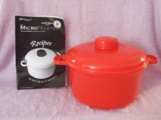 New Micromaster Microwave Pressure Cooker Rice Cooker Steamer