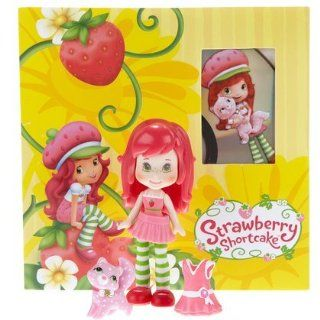 Strawberry Shortcake Scented Mini Doll Custard Cat w DVD Hasbro