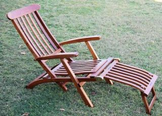 Queen Mary 1st Class Only Reproduction Deck Chair