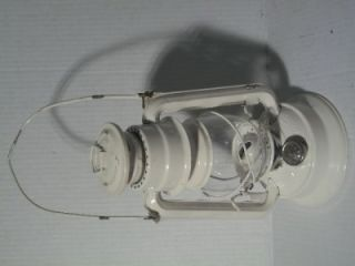 "Vintage Meva Oil Lamp Railroad Kerosene Lantern No 864 Made Czech Republic 10""T"