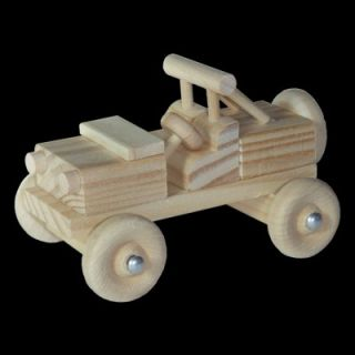Wood Model Dune Buggy Craft Kit