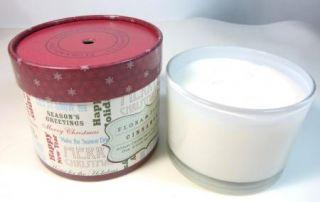 Flora Fauna Cinnamon Artisan 3 Wick Soy Candle