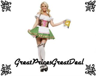 Costume Leg Avenue 83311 2 Pcs Gretchen St Pauli Girl Sexy Party Costume