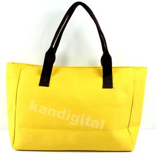 New Fashion Girl Cute Extra Large Tote Travel Casual Style Handbag Canvas Bag