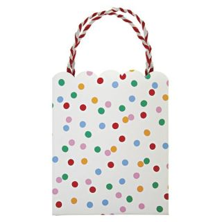 TOOT Sweet Childrens Circus Birthday Party Pack 8 Paper Spotty Loot Bags