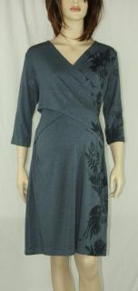 New Japanese Weekend Maternity x Front Nursing Dress Cross Front L 12 14