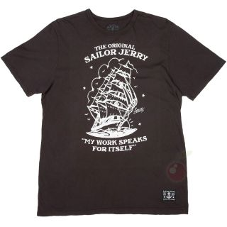 Men's Sailor Jerry Homeward Bound T Shirt Tattoo Rockabilly Retro Flash SHIP