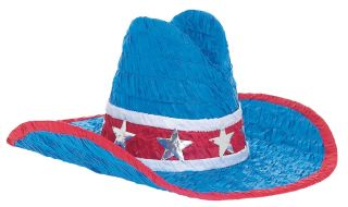 Cowboy Hat Pinata Western Themed Birthday Party Supplies Games