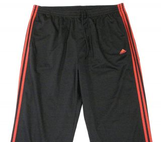 Adidas Signature Active 360 Black Red Track Pants Mens
