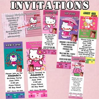 Personalized hello kitty birthday t shirt toddler youth favor hello kitty birthday stickers candy wrappers personalized invites and more filmwisefo Image collections