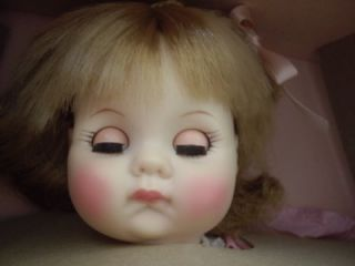 """Madame Alexander 14"""" Baby Doll Puddin Cut Hair on 1 Side"""