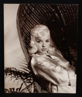 Sultry Diana Dors Large Glamour Girl Pin Up Photograph Wallace Seawell Archive