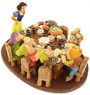 RARE Soup's on Signature Series Walt Disney Snow White The Seven Dwarfs Mint