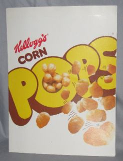 Kellogg's Cereal '84 Corn Pops Sales Promotion