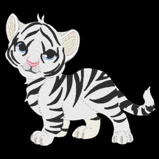 Tiger Cubs 13 Machine Embroidery Designs Azeb