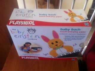 Baby Einstein Baby Bach Touch Play Pipes New