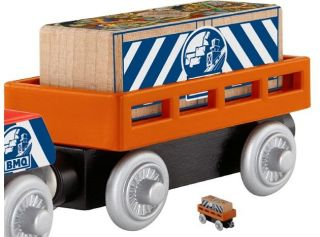 Mining Supply Cargo Car Thomas Friends Wooden Train C New USA Seller