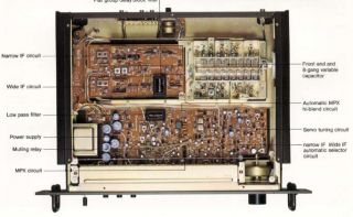 Vintage Technics St 9030 FM Tuner Works Great Analog Dual If Serveo Tune